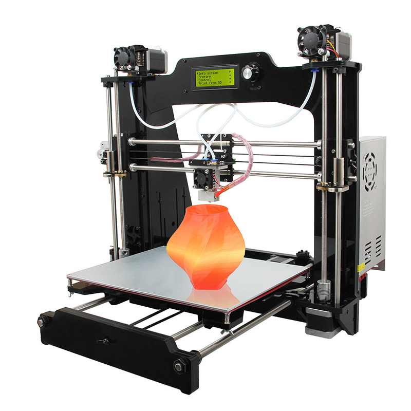 Wholesale Geeetech Prusa I3 M201 DIY 3D Printer (2 Colors Mixing, Large Printing Volume, High Precision)