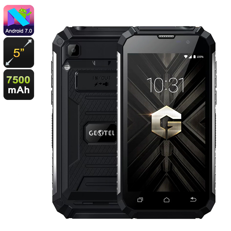 Wholesale Geotel G1 5-Inch HD 3G Android 7.0 Phone (Dual SIM, Quad Core CP