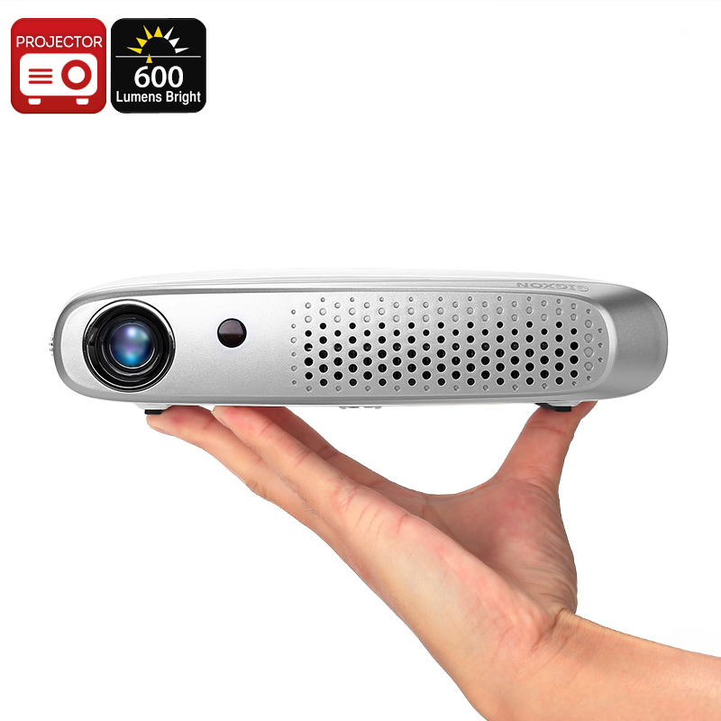 Wholesale Gigxon G-602 DLP Projector - 600 Lumen, Wi-Fi, 1200x800 Resolution, Android OS, Auto Keystone, 20 To 200 Inch, 2x HDMI, 2x USB
