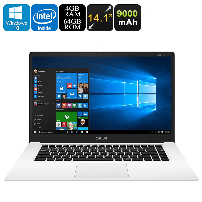 Wholesale HK Warehouse CHUWI 14.1 Inch LapBook Notebook - Windows 10 Home,