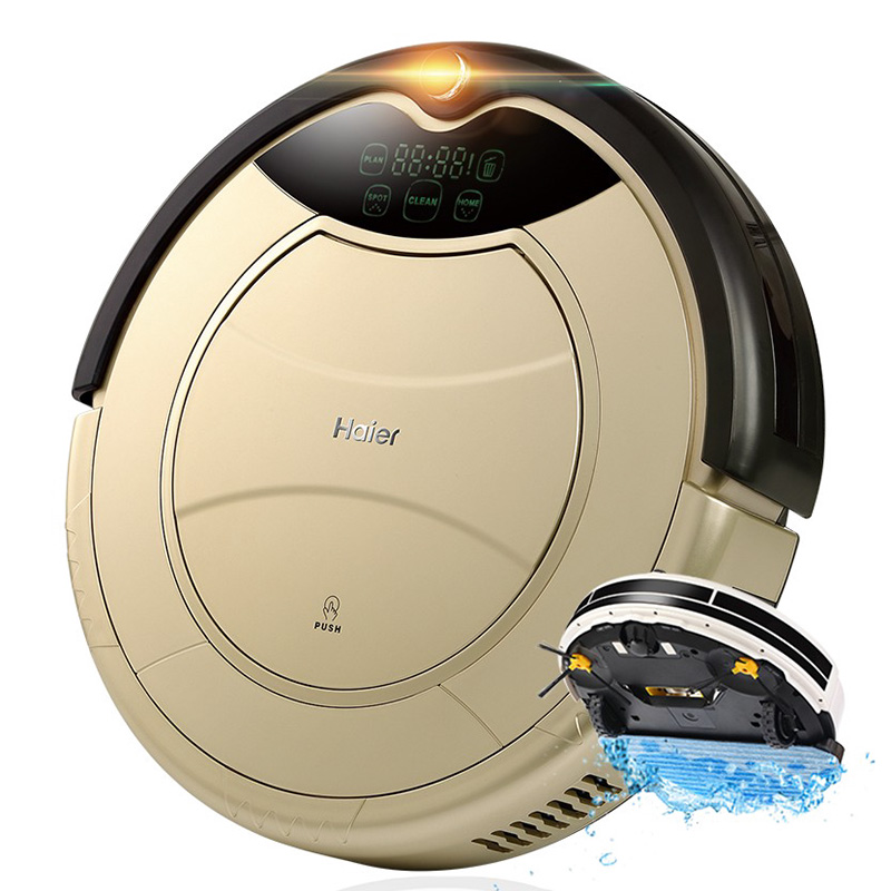 Wholesale Haier Pathfinder Robot Vacuum Cleaner - 800pa, Dry Cleaning, Wet Cleaning, Low Noise, Different Cleaning Modes, Auto-Recharge
