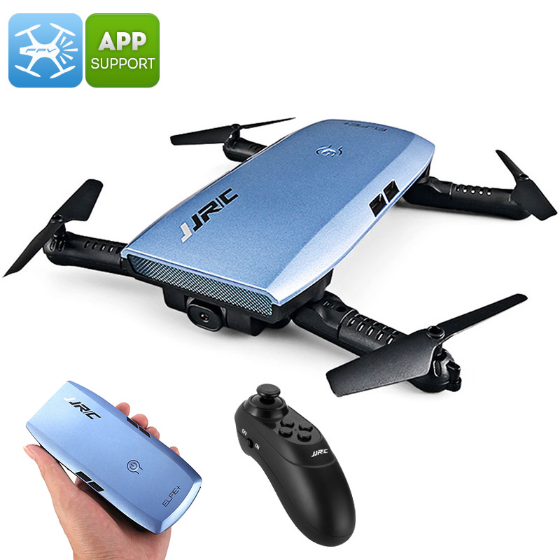 Wholesale JJRC H47 ELFIE+ Foldable Drone - 720p Camera, 6 Axis, 7 Min Flight Time, FPV, App Support, Flight Planning, Headless Mode