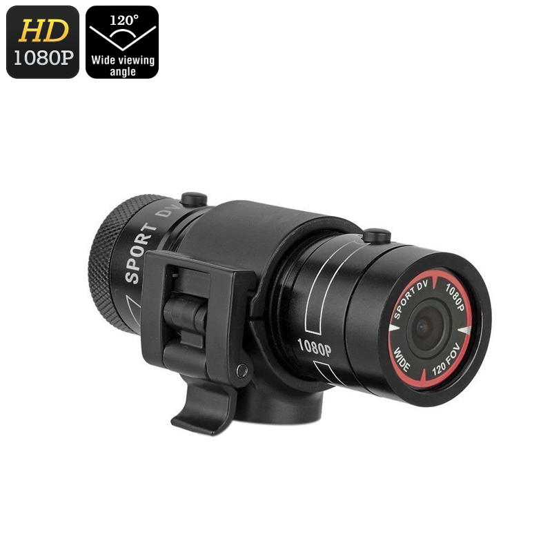 Wholesale Kingear KG006 Solid Metal Body Waterproof Mini Sports Camera (1080p FHD Video, 1.3MP CMOS, 120-Degree Lens)