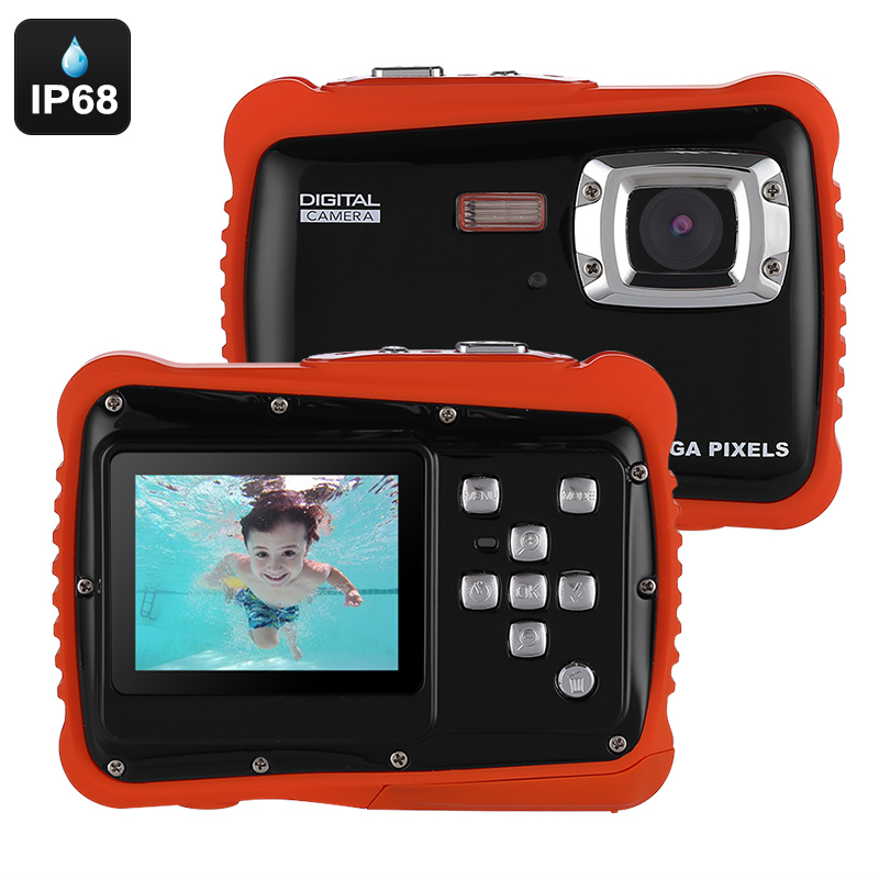 Wholesale Powpro Kfun PP-J52 Waterproof Underwater HD Video Camera for Kid