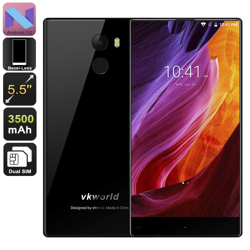 Wholesale VKworld MIX Android Phone - Android 7, Quad-Core, 2GB RAM, 5.5-I
