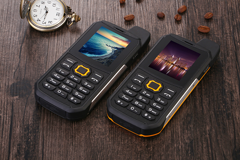 Ip67 Rugged Outdoor Power Bank Phone With Walkie Talkie
