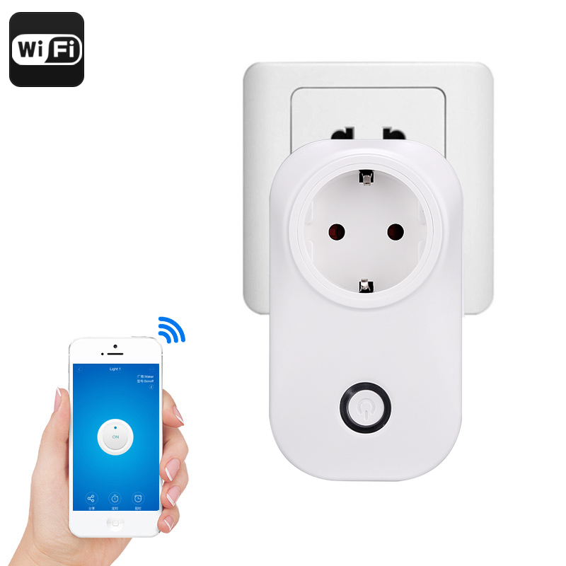 Wholesale Smart Home WiFi Plug Socket (Amazon Echo Alexa, Android/iOS Control)