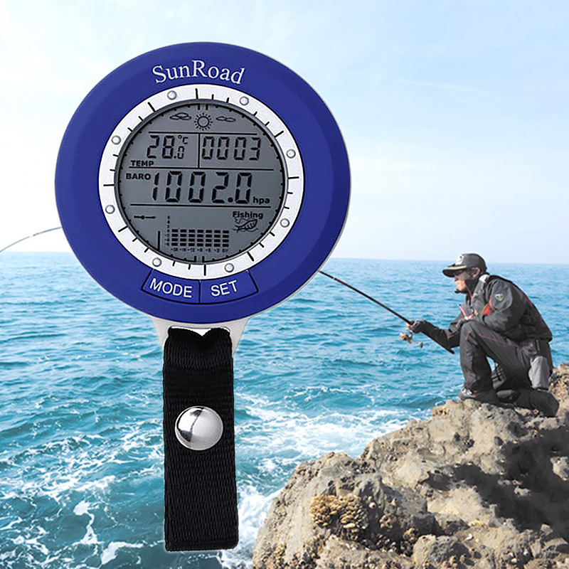 Wholesale Sunroad SR204 Fishing Barometer with Altimeter and Thermometer (IPX4 Waterproof, Track 6 Locations, Weather Forecast)