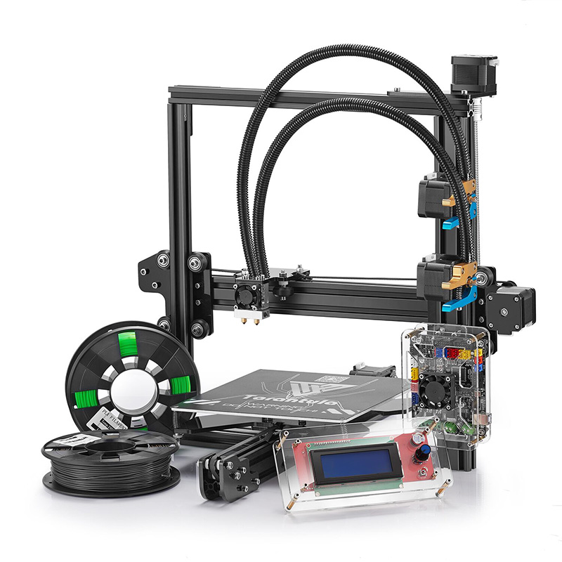 Wholesale Tevo Tarantula Prusa I3 3D Printer (Offline Print, High Precision, Dual Color)