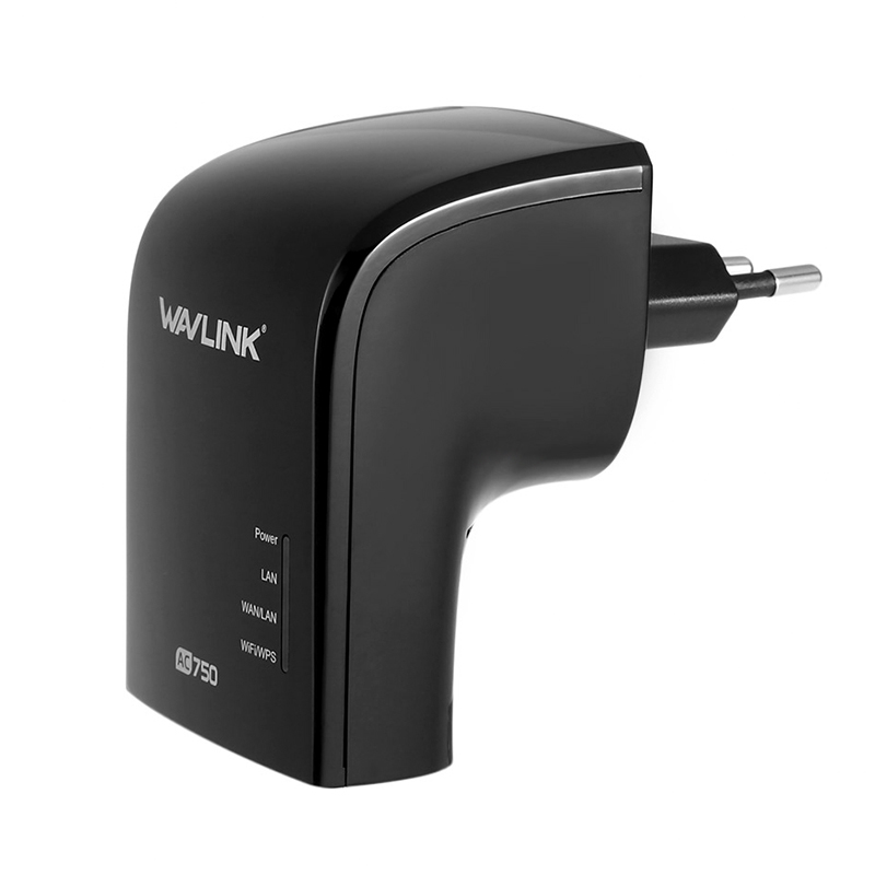 2 4GHz + 5GHz Dual-Band WiFi Range Extender with 3 3dBi
