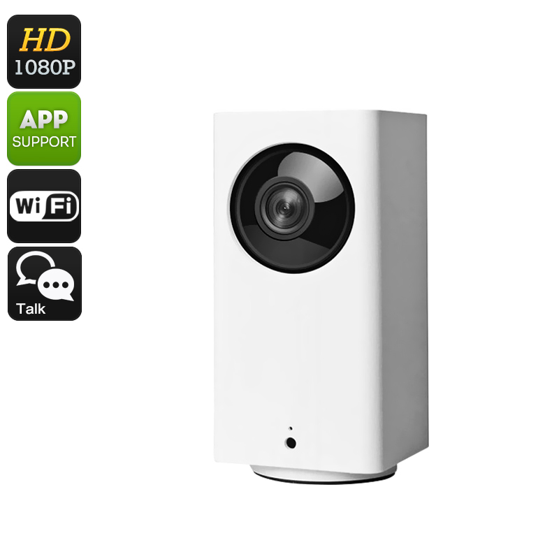 Wholesale Xiaomi Dafang Smart Full-HD 1080p WiFi Security Camera (Night Vision, PTZ, Two Way Audio, iPhone/Android Control)