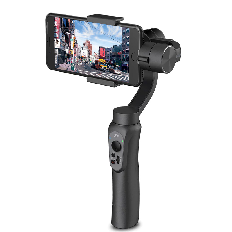 Wholesale Zhiyun Smooth-Q Handheld Smartphone Gimbal - 3-Axis, Built-in Battery, Light Weight, Simple Design, App Support