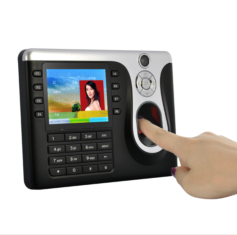 Wholesale Fingerprint Time Attendance System with 1.3MP Camera (3.5 Inch Screen, Multiple Identification)