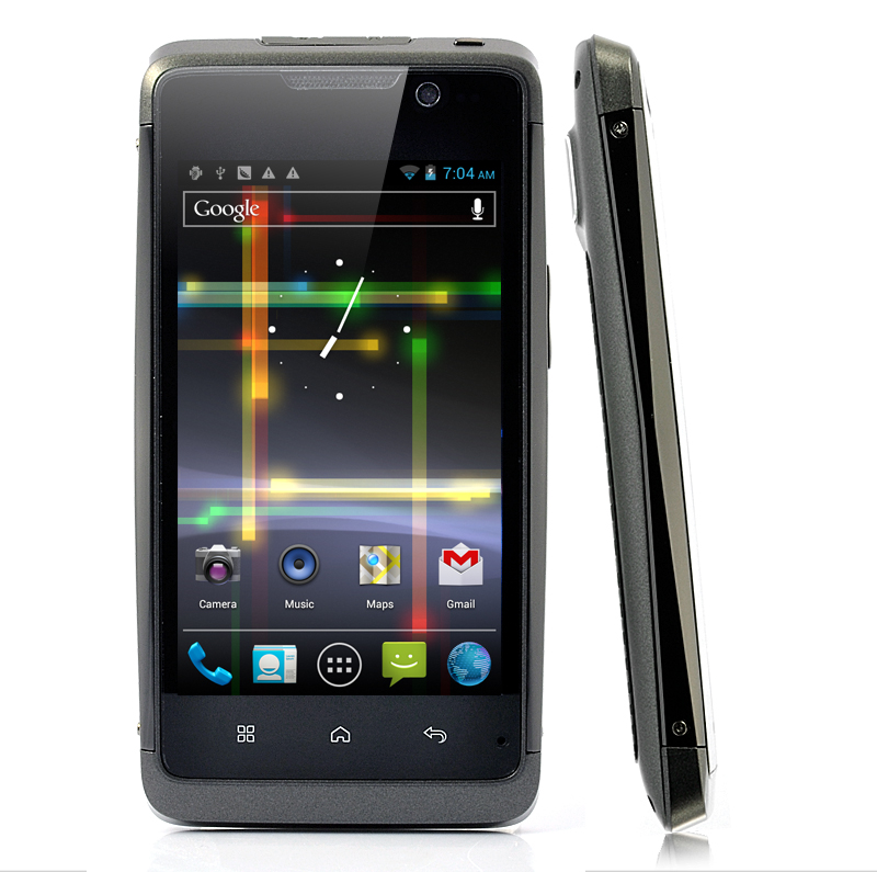 AquaPhone - 3G Android 4.0 Phone - Waterproof, 4.1 Inch, 1GHz and Dual SIM