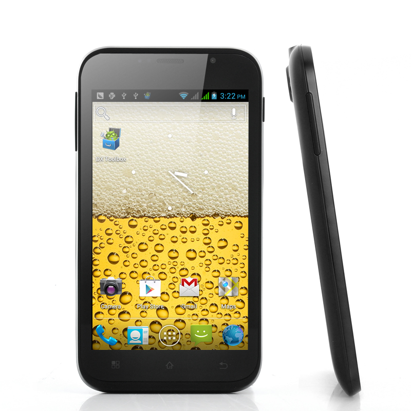Fizz - 3G Android 4.0 Phone with 5.2