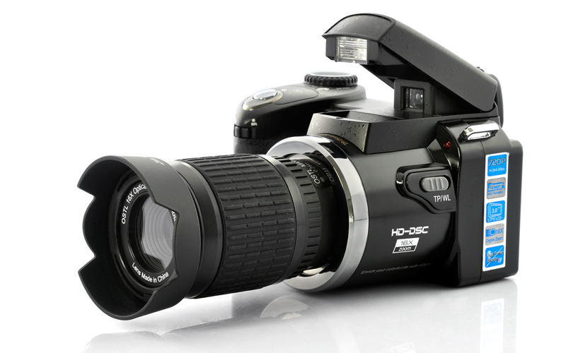 5.0MP 720P Digital Camcorder (16x Optical Telescope Zoom, Wide-Angle Lens)