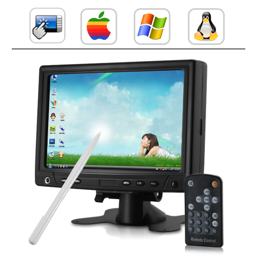 7 Inch Touchscreen Monitor with VGA & AV IN