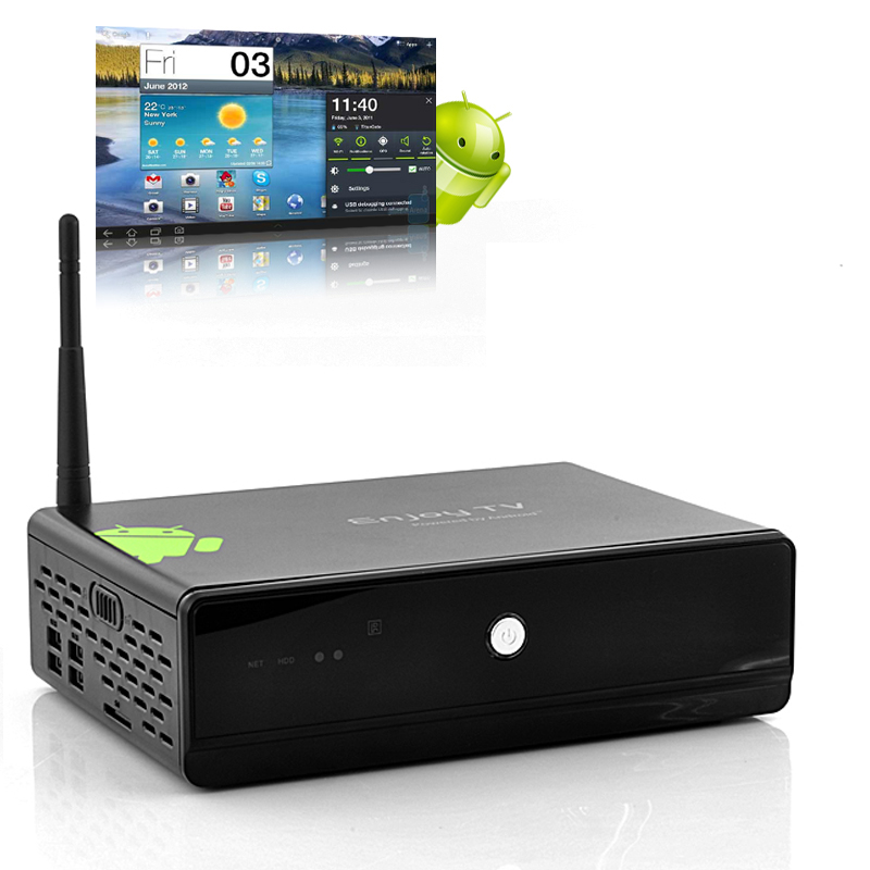 EZTV - Android 4.0 TV+PC Box (HDD Bay, WiFi, Media Player)