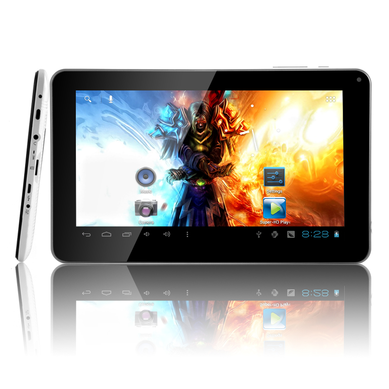 HexTab - 9 Inch Android 4.0 Tablet (1.2GHz, 512MB RAM, 8GB)