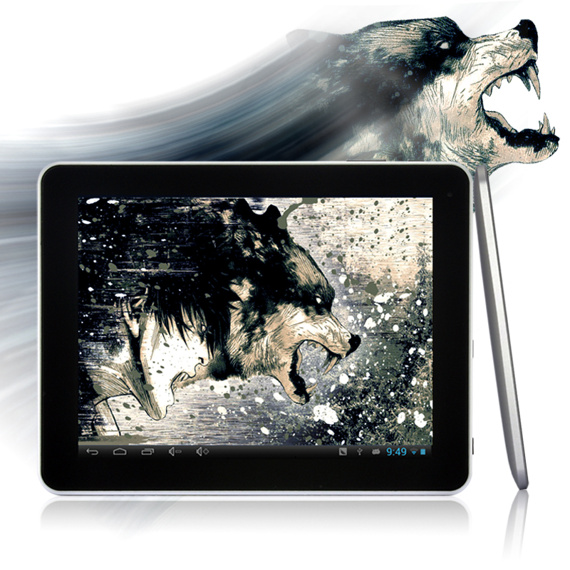 Fenris - 9.7 Inch Android 4.1 Tablet PC (1.6GHz Dual Core, 1GB DDR3, 16GB)