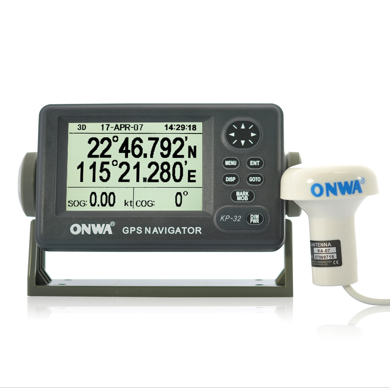 Onwa KP-32 Marine GPS / SBAS Navigator with 4.5 Inch Screen