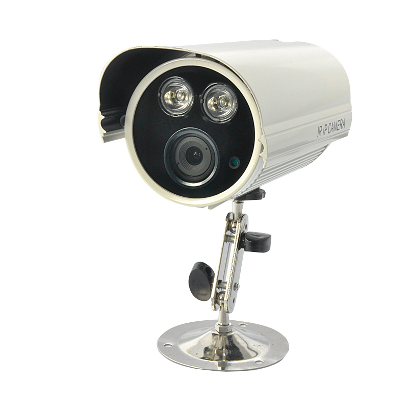 720P HD IP Security Camera (Dual IR Nightvision, Weatherproof Outdoor)