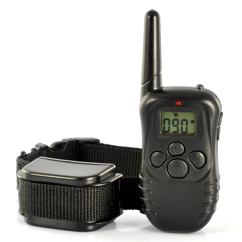 Wholesale Pet Dog Training e-Collar with LCD Display (Remote, 300 Meters Range)