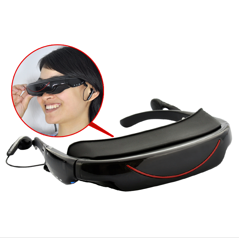 Wholesale Compact Video Glasses with AV function (72 Inch Virtual Screen, 4GB)