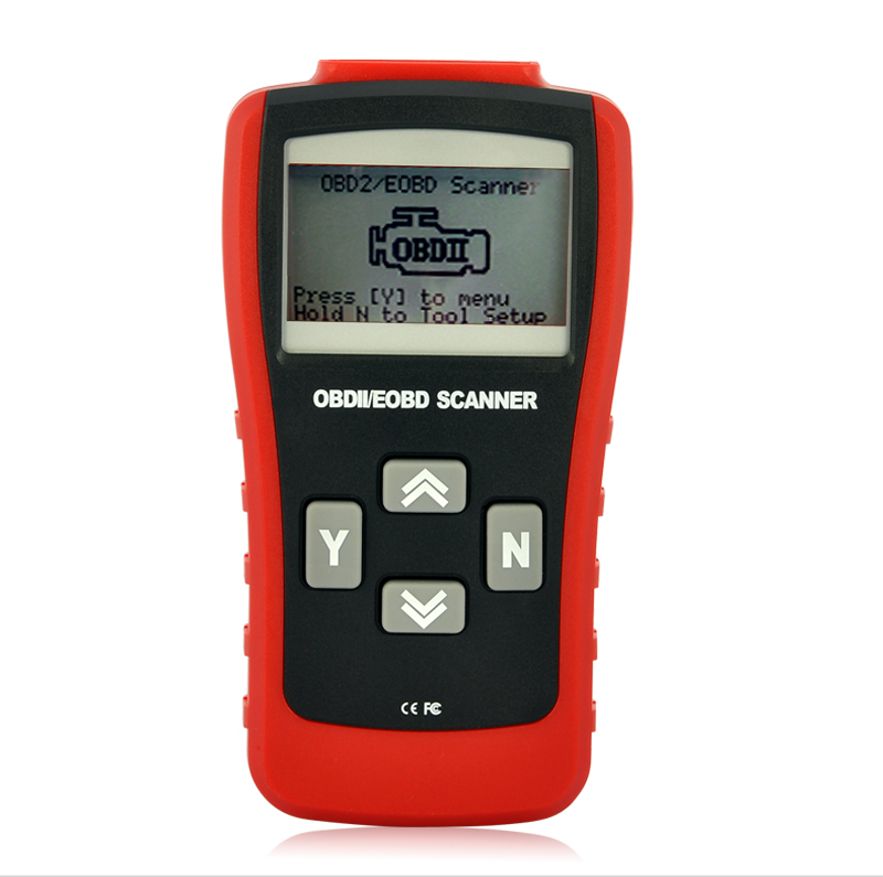 Wholesale Professional Vehicle OBD-II and EOBD Code Scanner with 3.0 Inch LCD Screen