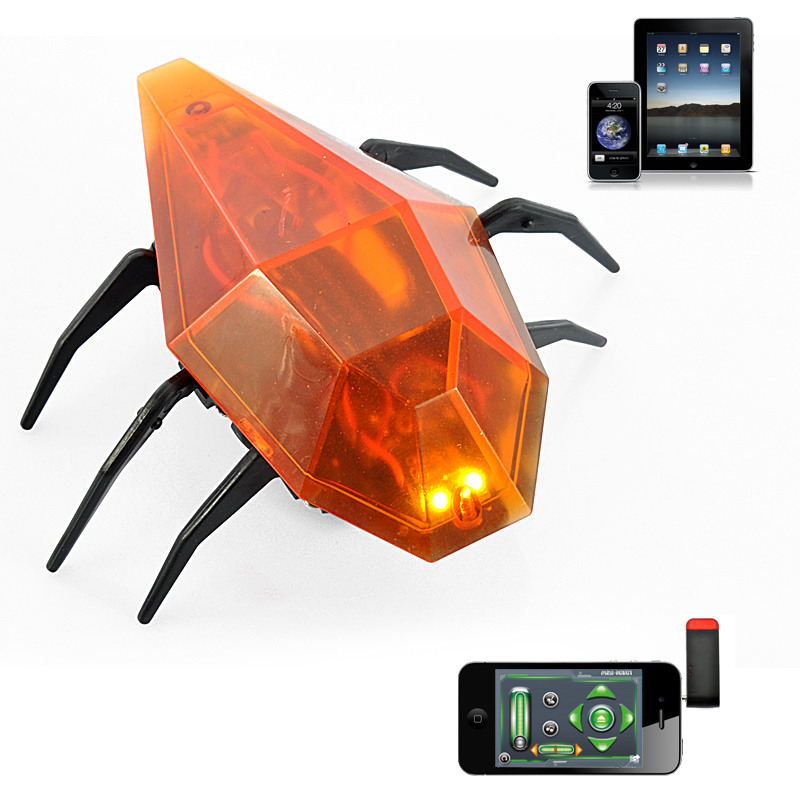 Wholesale iRoach - iOS RC Robot Cockroach Toy for iPhone/iPad/iPod Touch