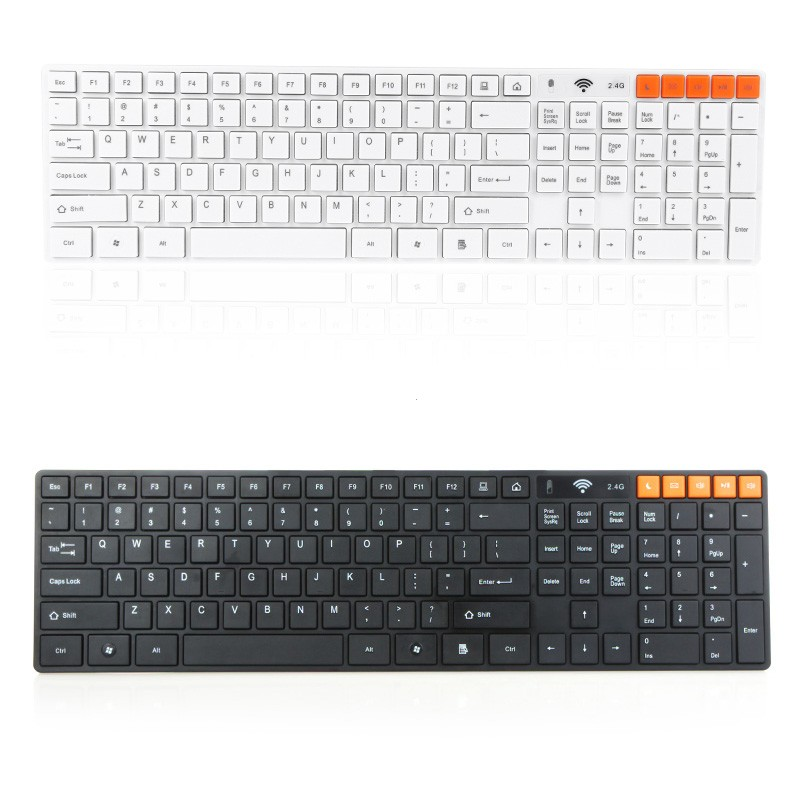 Wholesale 2.4GHz Wireless Keyboard and Wireless Optical Mouse Combo for Computer