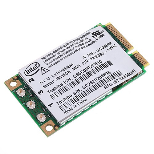 Wholesale Intel 4965 4965AGN Wireless WiFi PCI-E Card for Laptop (802.11n/