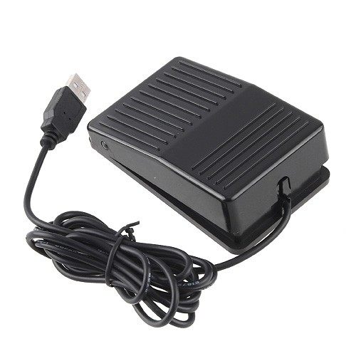 Wholesale USB Foot Control Keyboard Switch - Pedal HID for Game, Test, Ins