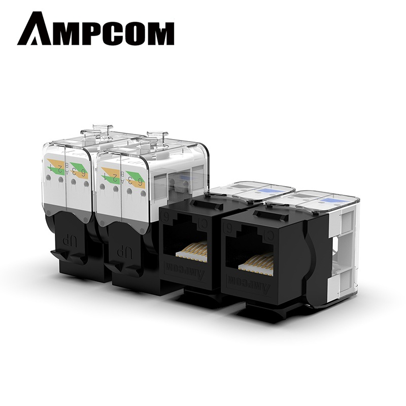 images/pc-audio-video-cable-connector-adapter/A104792861394263878PB/ampcom-pro-cat6-tool-less-keystone-jack-self-locking-no-punch-down-rj45-module-adapter-cat6-china-black-10pcs-plusbuyer.jpg