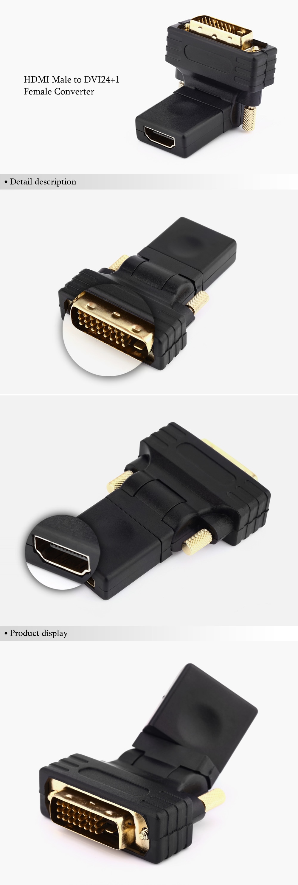 images/pc-audio-video-cable-connector-adapter/A201710301PB/hdmi-to-dvi24-1-female-to-male-converter-black-plusbuyer_4.jpg