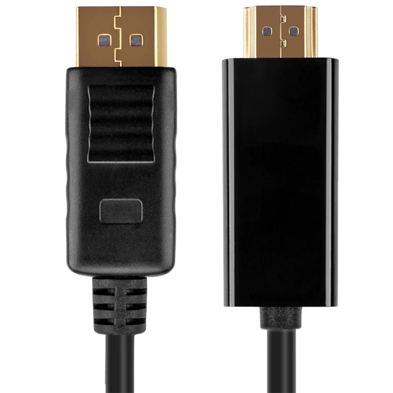 images/pc-audio-video-cable-connector-adapter/A293673201PB/male-hdmi-to-male-dp-cable-18m-black-plusbuyer.jpg