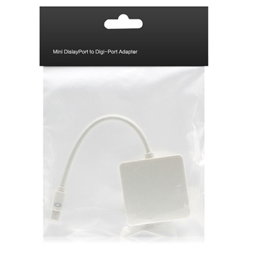 Wholesale Mini DP to VGA + DVI + HDMI Converter - White
