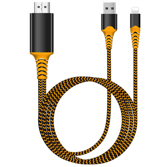 Wholesale 2K 2M Conversion Cable from Apple to HDMI - Yellow