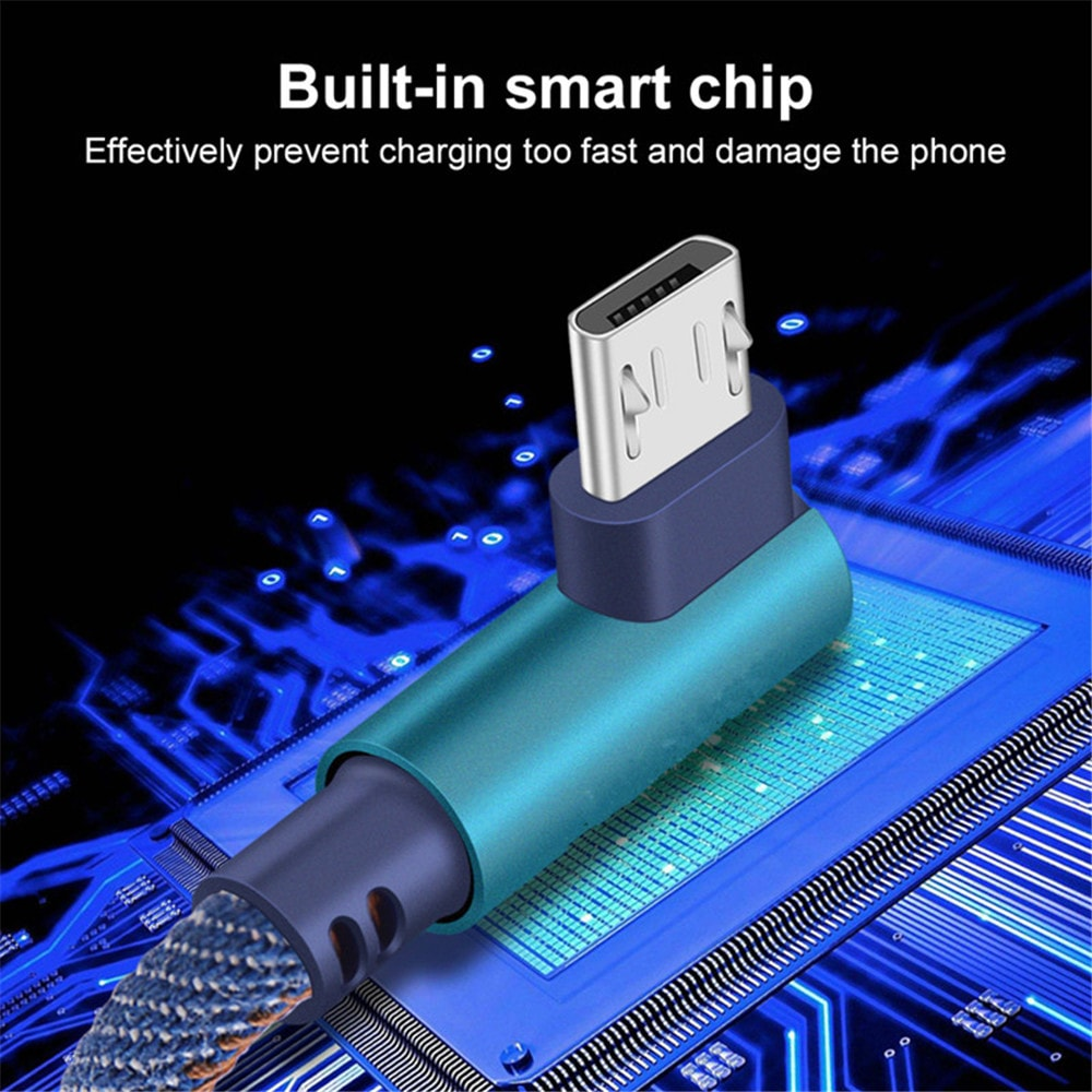 images/pc-audio-video-cable-connector-adapter/A446598801PB/90-degree-micro-usb-cable-24a-fast-charging-charge-data-cord-denim-dark-blue-plusbuyer_4.jpg