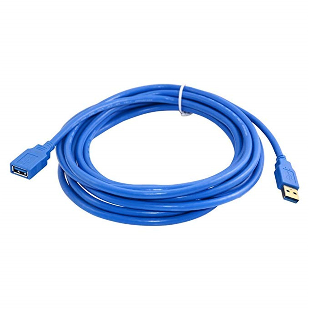 Wholesale Fast Speed USB 3.0 Extension Cable USB Cable Male To Female Data Sync Cord 3M - Blue