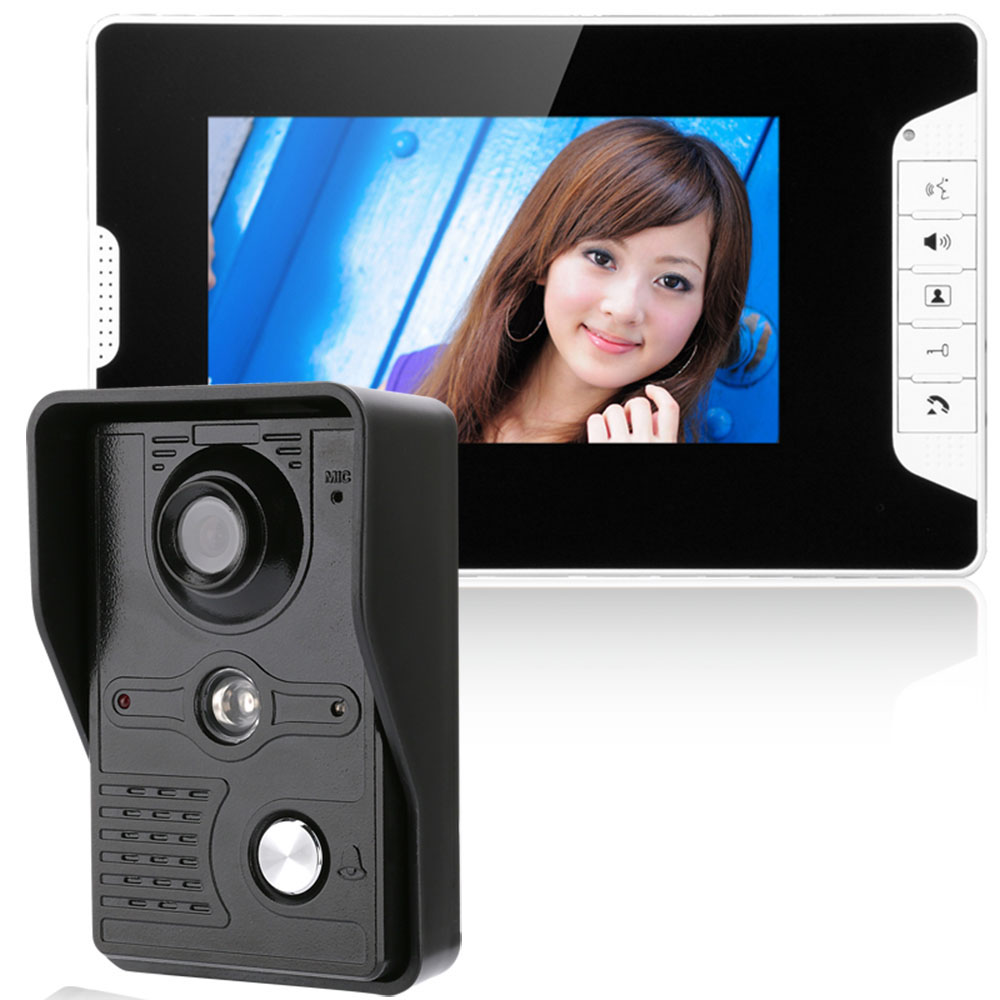 images/shopping-electronics/7-Inch-Video-Door-Phone-Doorbell-Intercom-Kit-Night-Vision-with-IR-CUT-HD-1000TV-Luxury-Ceramic-plusbuyer.jpg