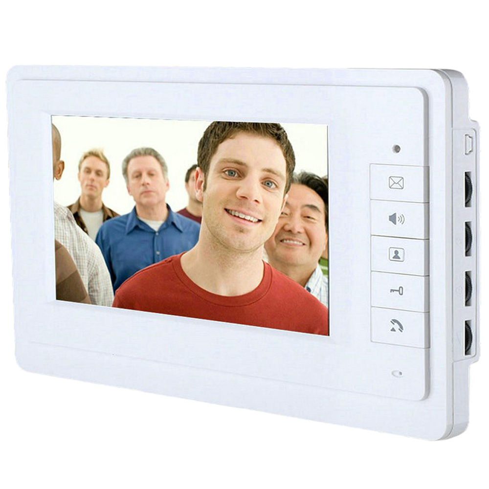 images/shopping-electronics/816FA11-Wired-Video-Intercom-Doorbell-7-inch-White-plusbuyer.jpg