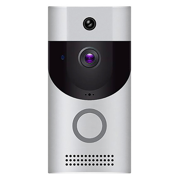 Wholesale B30 Home Alarm Smart WiFi Mobile Phone Remote Video Doorbell - Silver