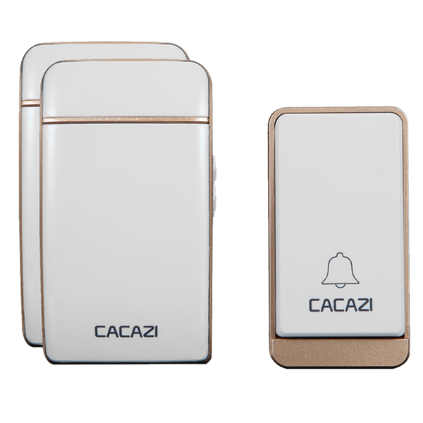images/shopping-electronics/CACAZI-Self-powered-Home-Wireless-Digital-Music-Doorbell-Champagne-Gold-plusbuyer.jpg