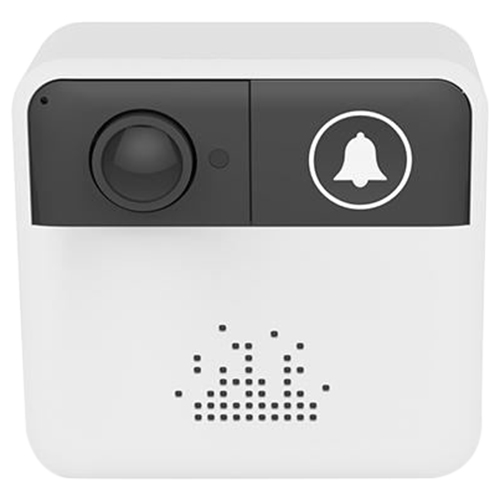 Wholesale IDS1 720P Small Square Doorbell Camera - White