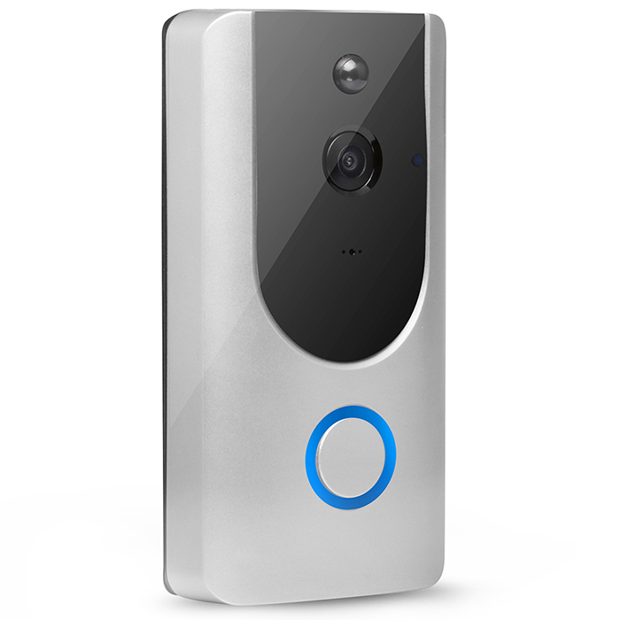 Wholesale M2 Wireless Visual Smart Doorbell - Silver