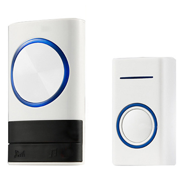 Wholesale Smart Music Wireless Home Exchange Digital Electronic Doorbell - White