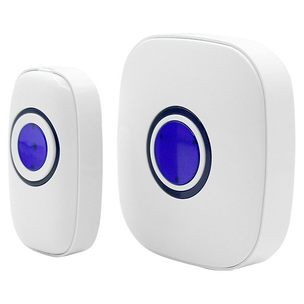 Wholesale Smart Wireless Digital Music Doorbell - White