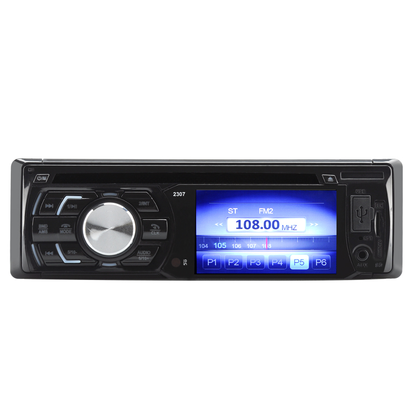 Wholesale 1 DIN 3 Inch Car DVD Player (180W HiFi, Bluetooth Handsfree, Remote Control, USB, Aux In)