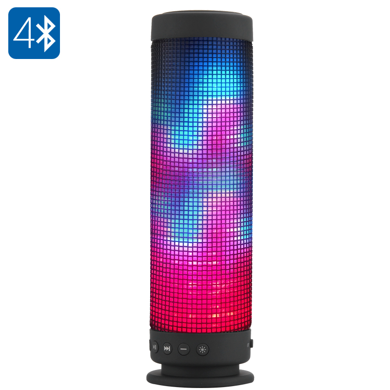 Wholesale Portable Bluetooth 4.0 Speaker with 88 LEDs (10W, 360 Degree Ste